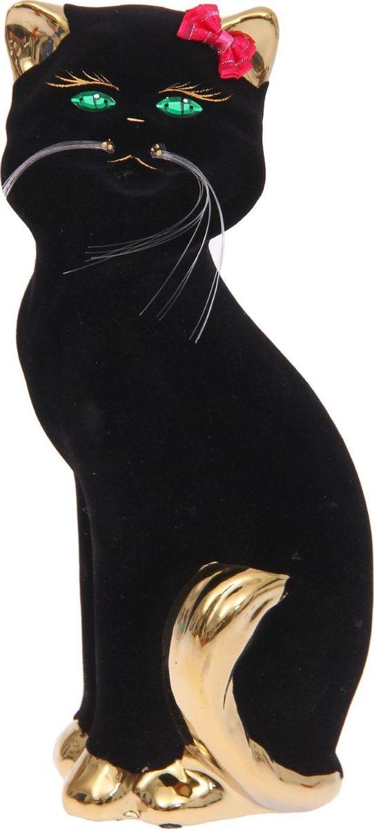 Копилка Керамика ручной работы Кошка Матильда, 6 х 10 х 25 см1147275Женщины любят баловать себя покупками для красоты и здоровья. С помощью такой копилки можно незаметно приблизиться к приобретению желаемого. Образ кошки всегда олицетворял привлекательность и символизировал домашнее спокойствие. Поставьте изделие возле предметов роскоши, и оно будет способствовать их преумножению.Обращаем ваше внимание, что копилка является одноразовой.