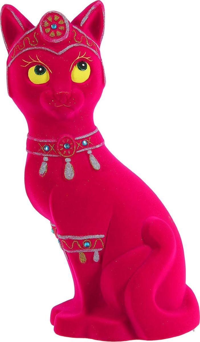 Копилка Керамика ручной работы Кошка-принцесса, 18 х 18 х 45 см1208717Женщины любят баловать себя покупками для красоты и здоровья. С помощью такой копилки можно незаметно приблизиться к приобретению желаемого. Образ кошки всегда олицетворял привлекательность и символизировал домашнее спокойствие. Поставьте изделие возле предметов роскоши, и оно будет способствовать их преумножению.