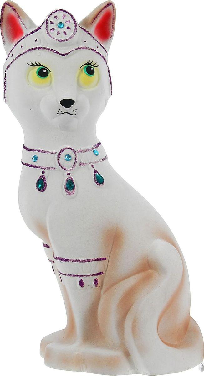 Копилка Керамика ручной работы Кошка-принцесса, цвет: белый, 18 х 18 х 44 см1212502Женщины любят баловать себя покупками для красоты и здоровья. С помощью такой копилки можно незаметно приблизиться к приобретению желаемого. Образ кошки всегда олицетворял привлекательность и символизировал домашнее спокойствие. Поставьте изделие возле предметов роскоши, и оно будет способствовать их преумножению.Обращаем ваше внимание, что копилка является одноразовой.