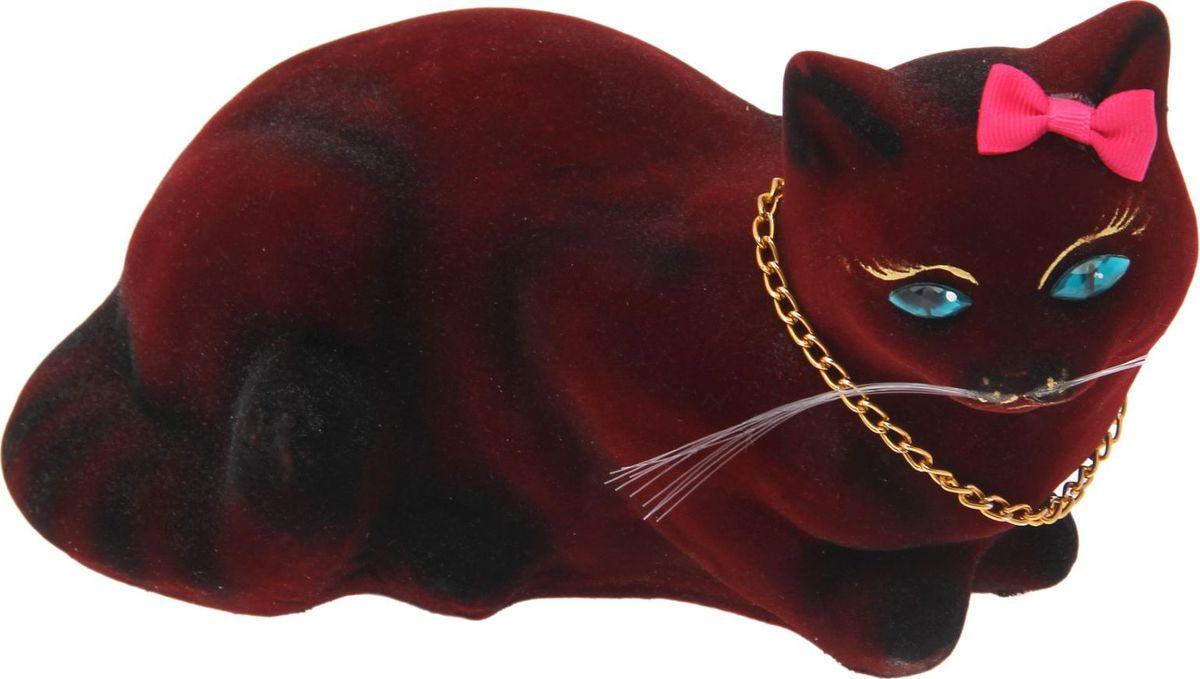 Копилка Керамика ручной работы Кошка Ляля, 23 х 13 х 12 см1502141Женщины любят баловать себя покупками для красоты и здоровья. С помощью такой копилки можно незаметно приблизиться к приобретению желаемого. Образ кошки всегда олицетворял привлекательность и символизировал домашнее спокойствие. Поставьте изделие возле предметов роскоши, и оно будет способствовать их преумножению.