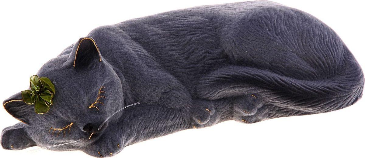 Копилка Керамика ручной работы Кошка Марта, 10 х 40 х 12 см185643Женщины любят баловать себя покупками для красоты и здоровья. С помощью такой копилки можно незаметно приблизиться к приобретению желаемого. Образ кошки всегда олицетворял привлекательность и символизировал домашнее спокойствие. Поставьте изделие возле предметов роскоши, и оно будет способствовать их преумножению.