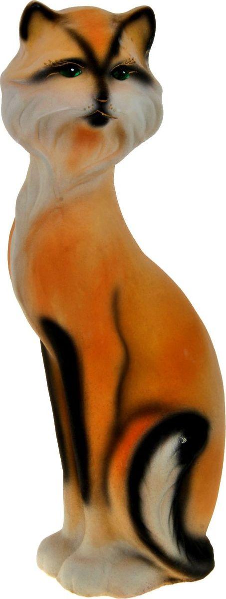 Копилка Керамика ручной работы Кошка Матильда, 10 х 11 х 45 см788108Женщины любят баловать себя покупками для красоты и здоровья. С помощью такой копилки можно незаметно приблизиться к приобретению желаемого. Образ кошки всегда олицетворял привлекательность и символизировал домашнее спокойствие. Поставьте изделие возле предметов роскоши, и оно будет способствовать их преумножению.