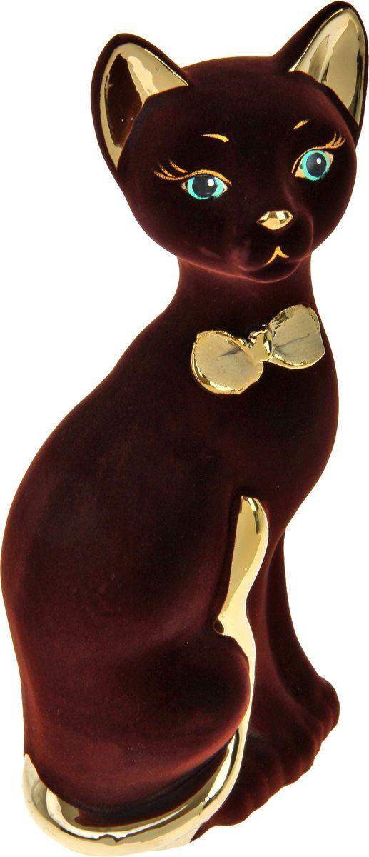 Копилка Керамика ручной работы Кот Мурка, 12 х 10 х 32 см788109Помните, как порой бывают необходимы не очень большие средства на какое-то нужное и важное дело, но они отсутствуют? Забудьте. В тот момент у вас не было копилки, которая помогла бы в сбережении денег. Изделие в виде котов поспособствует изгнанию злых духов из дома и защищает от сглаза. Кот символизирует домашний уют, тепло семейных отношений, психологический и эмоциональный комфорт.