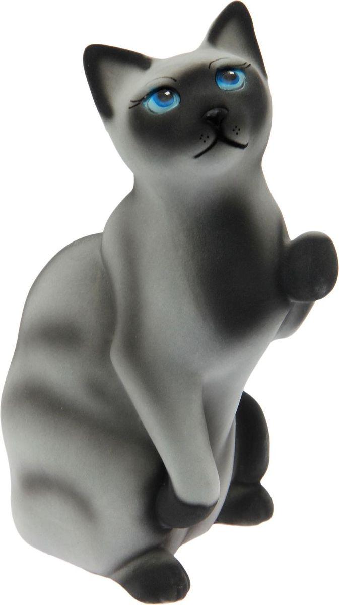 Копилка Керамика ручной работы Кошка Попрошайка, 35 х 18 х 20 см833081Копилка-кошка символизирует хитрость. Она поможет своему хозяину быстро скопить желаемую сумму, поэтому не стоит удивляться совсем неожиданным финансовым поступлениям. Очень важно создать уют для своей копилки-кошки. Она любит комфорт, и если вы создадите его, она отплатит сполна.