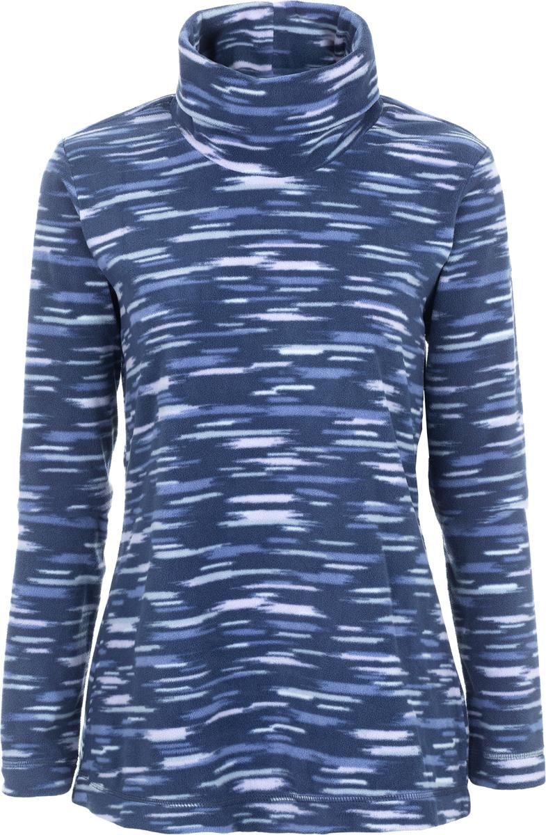 Толстовка жен Columbia Glacial Fleece Turtleneck W, цвет: темно-синий. 1556641-591. Размер L (48)1556641-591Стильный и легкий флисовый джемпер, который станет незаменимой вещью в походе. Флис - это очень удачный материал для одежды, которая направлена на удержание тепла, ведь ткань даже в мокром состоянии сохраняет свои теплоизоляционные свойства. Ткань тянется, быстро сохнет и максимально быстро выводит влагу.