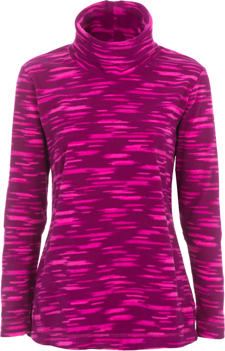 Джемпер женский Columbia Glacial Fleece Turtleneck W, цвет: малиновый. 1556641-684. Размер L (48)1556641-684Стильный и легкий флисовый джемпер Glacial Fleece Turtleneck, который станет незаменимой вещью в походе, выполнен из теплого флиса. Флис - это очень удачный материал для одежды, которая направлена на удержание тепла, ведь ткань даже в мокром состоянии сохраняет свои теплоизоляционные свойства. Ткань тянется, быстро сохнет и максимально быстро выводит влагу. Модель с длинными рукавами и высоким воротом.