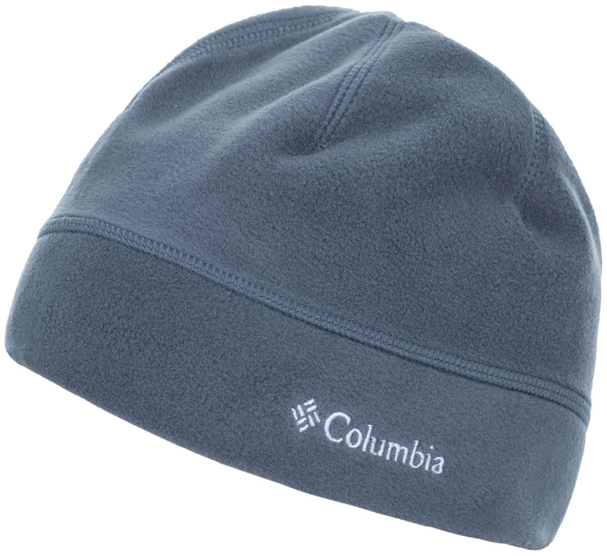 Шапка Columbia Thermarator, цвет: серый. 1556771-053. Размер S/M (56/57)1556771-053Практичная флисовая шапка Thermarator от Columbia станет удачным вариантом для путешествий в холодное время года. Технология Omni-Heat превосходно сохраняет тепло. Изделие оформлено фирменным логотипом с названием бренда.