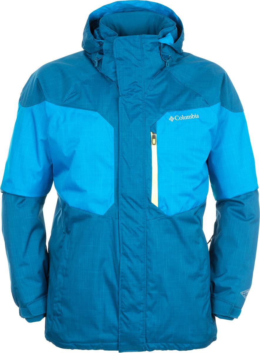 Куртка мужская Columbia Alpine Action Jacket, цвет: синий. 1562151-402. Размер XXL (56/58)