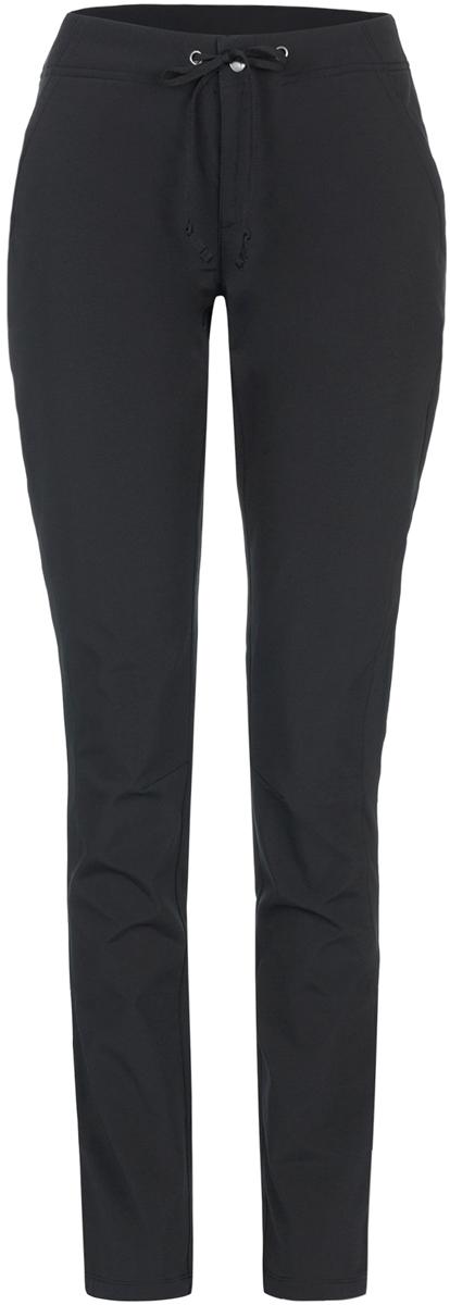 Брюки спортивные женские Columbia Anytime Outdoor Midweight Slim Pant W, цвет: черный. 1562561-010. Размер 12 (52)1562561-010Удобные спортивные брюки от Columbia станут отличным выбором для походов и активного отдыха на природе. Модель зауженного кроя с посадкой на талии. Водоотталкивающая пропитка Omni-Shield защищает от воды и грязи. Регулируемый пояс и ткань, которая тянется в двух направлениях, обеспечивают максимально удобную посадку. В данной модели предусмотрено три функциональных кармана, которые подойдут для мелких предметов.