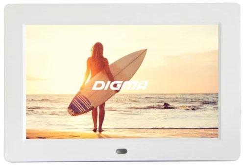 Цифровая фоторамка Digma PF-1033, White - Цифровые фоторамки