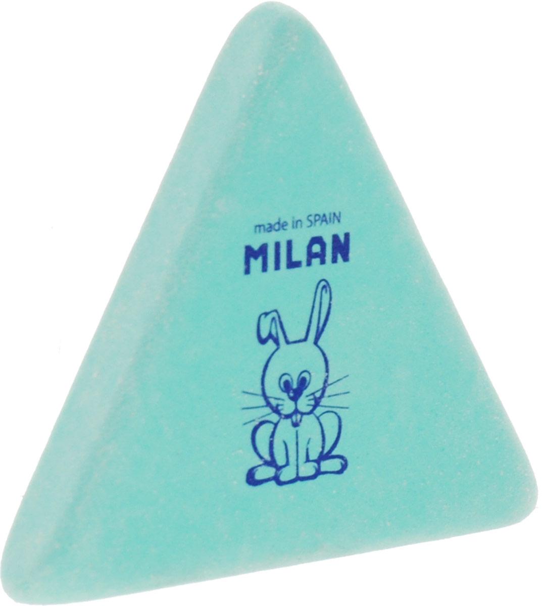 Milan Ластик 3 х 3 цвет бирюзовыйCMM3X3_бирюзовыйЛастик Milan удобной треугольной формы для точного стирания. Отлично удаляет следы графита мягких карандашей.
