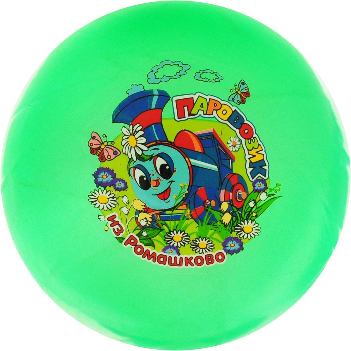 Играем вместе Мяч Паровозик из Ромашково цвет зеленый 23 см