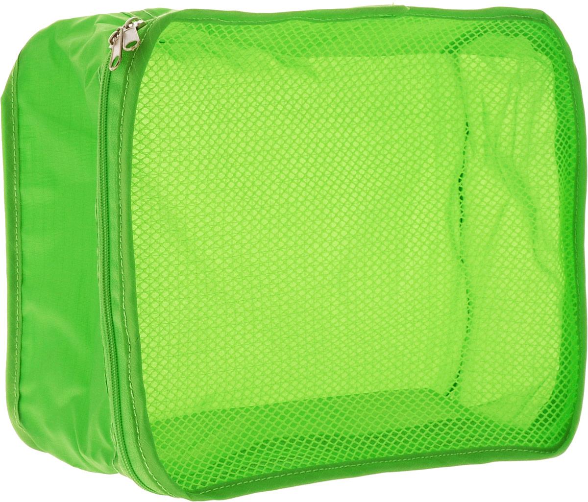Colibri Косметичка, цвет: зеленый, 26 х 20 х 10 смSC262010 (GREEN)Косметичка Colibri выполнена из 100% полиэстера и дополнена вставкой из сетки. Изделие закрывается на молнию. Косметичка предназначена для транспортировки косметических средств и принадлежностей. Компактная и удобная косметичка не займет много места в чемодане.