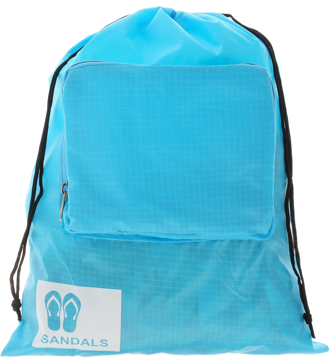 Colibri Чехол для обуви, цвет: голубой, 39 х 31 смJBB104 (BLUE)Чехол для обуви Colibri выполнен из 100% полиэстера. Изделие снабжено затягивающимся шнурком на кулиске. Спереди расположен небольшой накладной кармашек на молнии. Чехол предназначен для хранения и транспортировки обуви, благодаря небольшим размерам не займет много места у вас в чемодане. Кроме того, он легко и компактно складывается. Размер (в сложенном виде): 18 х 14 х 2 см. Размер (в разложенном виде): 39 х 31 см.