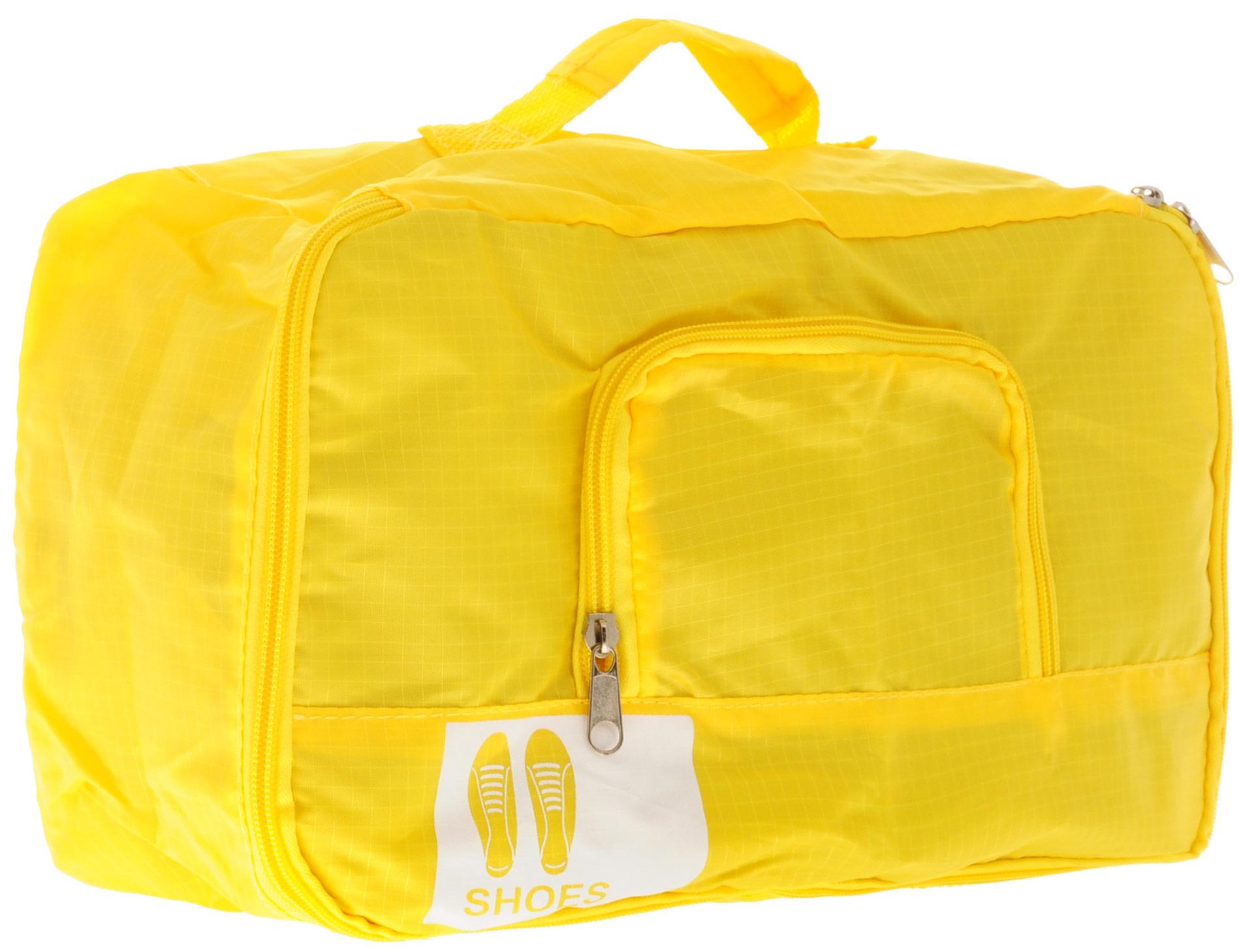 Colibri Чехол для обуви, цвет: желтый, 34 х 19 х 13 см чехол для обуви на молнии