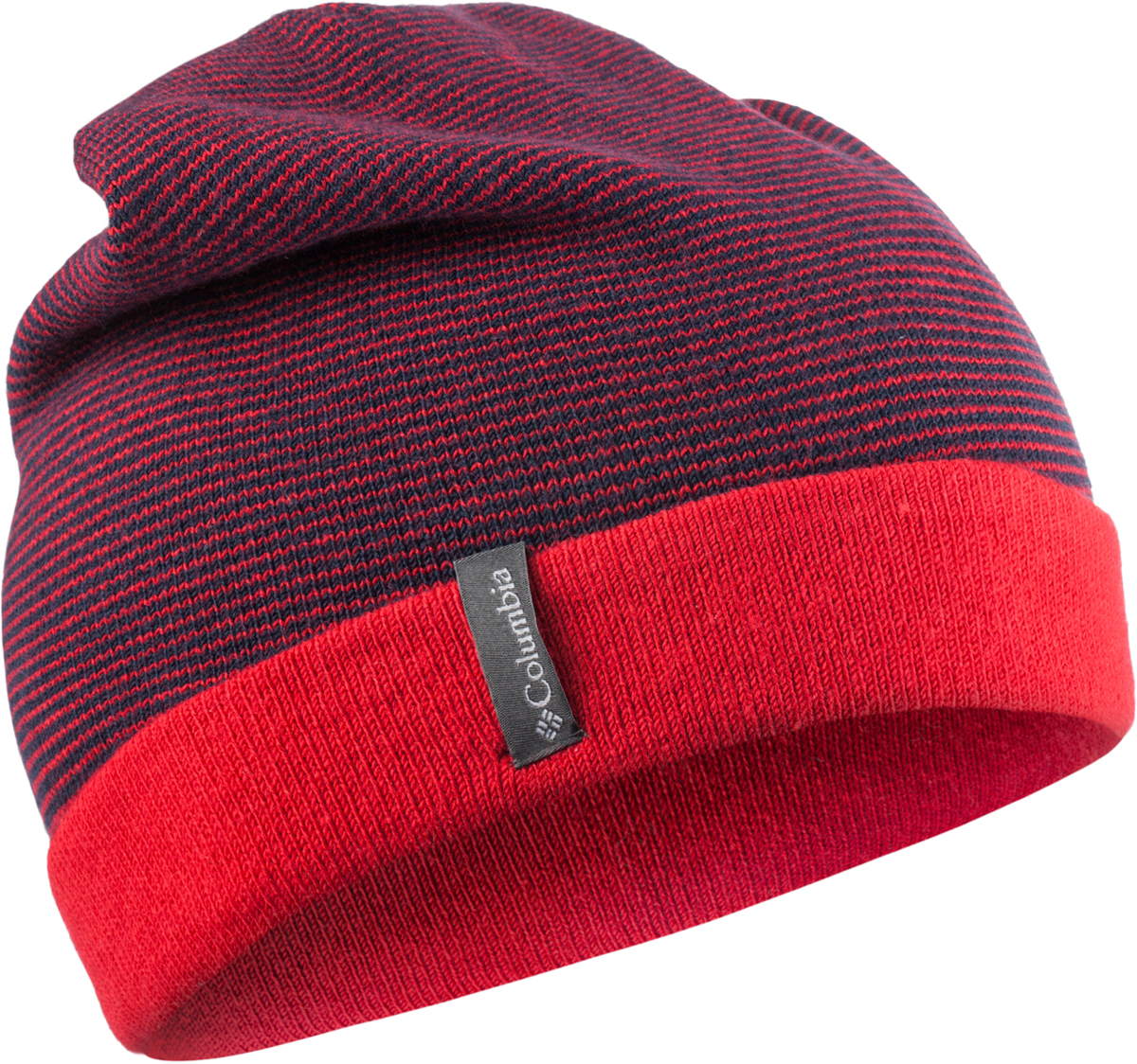 Шапка мужская Columbia Cascade Reversible Watchcap Hat, цвет: красный. 1682191-613. Размер универсальный1682191-613Удобная двусторонняя шапка Columbia Cascade Reversible - отличный выбор для прогулок и путешествий. Модель выполнена из акрила с добавлением нейлона и эластана.