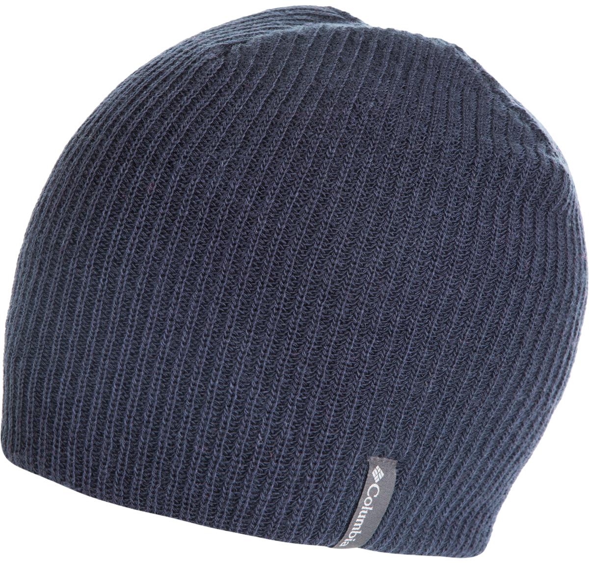 Шапка Columbia Ale Creek Beanie Hat, цвет: темно-синий. 1682201-464. Размер универсальный1682201-464Классическая шапка Columbia Ale Creek Beanie из высококачественного акрила. Выполнена модель в лаконичном стиле и дополнена небольшой нашивкой с названием бренда. Прекрасный выбор для повседневной носки и для зимних видов спорта.