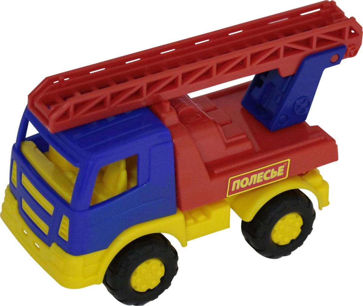 Полесье Пожарный автомобиль Тема №2 автомобиль пожарный полесье volvo в сеточке 8787