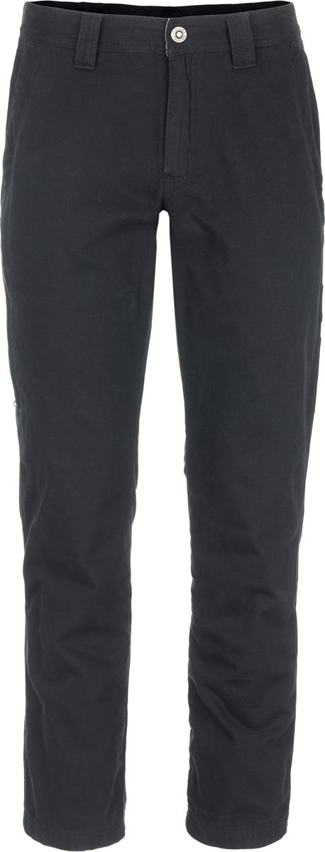 Брюки мужские Columbia Roc Lined 5 Pocket Pant M, цвет: черный. 1736421-010. Размер 36 (52)1736421-010Классические мужские брюки от Columbia - отличный выбор для путешествий и долгих прогулок. Верх брюк выполнен из натурального хлопка, подкладка - из полиэстера. Водоотталкивающая пропитка Omni-Shield надежно защищает от дождя и грязи. Технология Omni-Shade блокирует вредное солнечное излучение. Модель дополнена практичными карманами и шлевками для ремня.