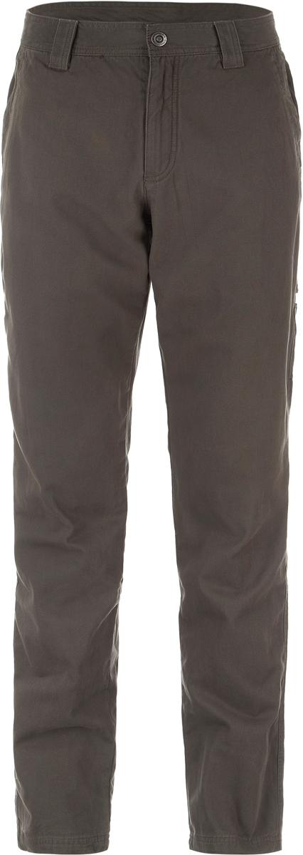 Брюки мужские Columbia Roc Lined 5 Pocket Pant M, цвет: серый. 1736421-326. Размер 36 (52)1736421-326Классические мужские брюки от Columbia - отличный выбор для путешествий и долгих прогулок. Верх брюк выполнен из натурального хлопка, подкладка - из полиэстера. Водоотталкивающая пропитка Omni-Shield надежно защищает от дождя и грязи. Технология Omni-Shade блокирует вредное солнечное излучение. Модель имеет классический пятикарманный крой и на талии дополнена шлевками для ремня.