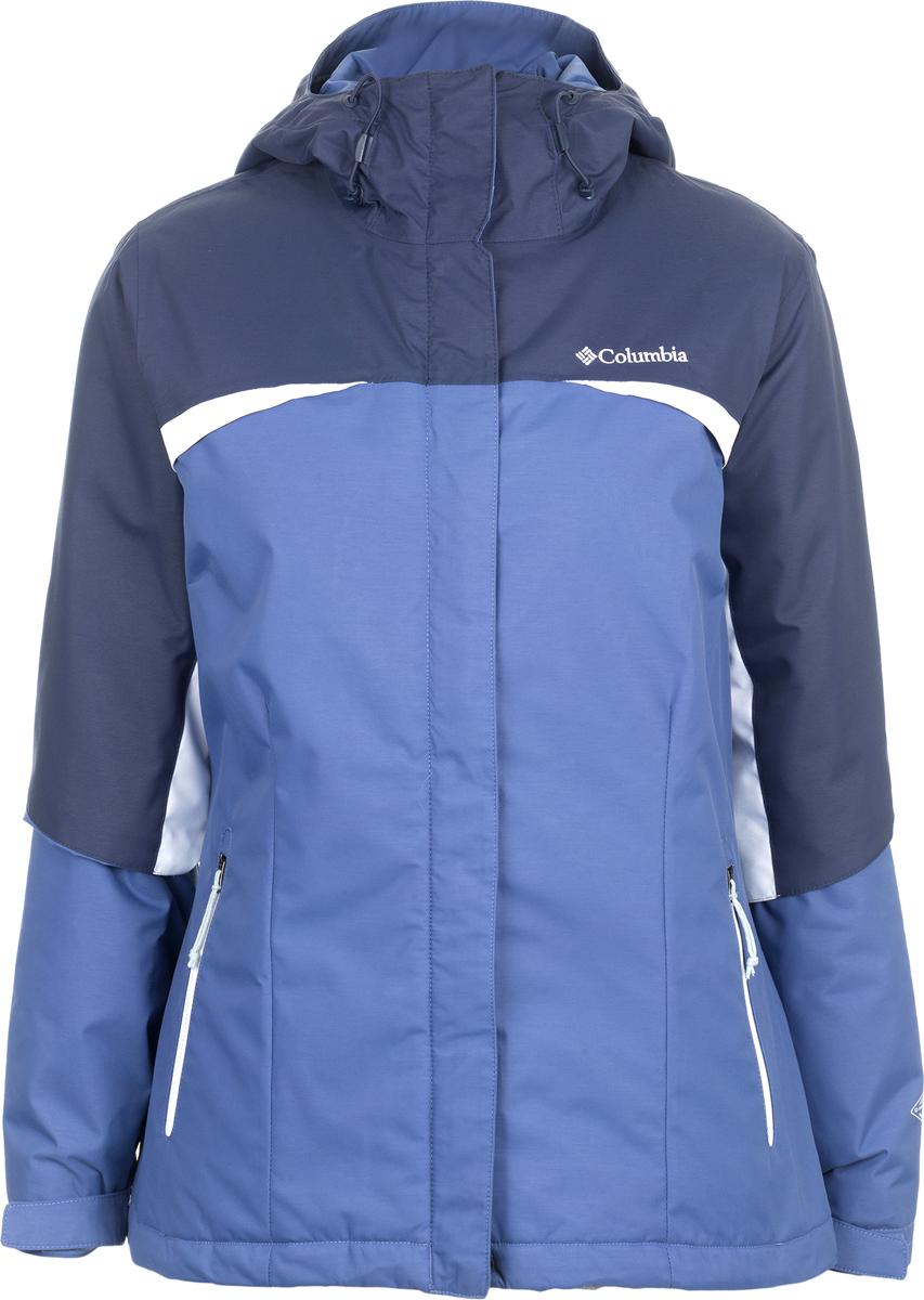 Куртка женская Columbia Rivanna Ridge Jacket W Ski, цвет: сиреневый. 1737121-508. Размер XL (50)1737121-508Куртка женская Columbia изготовлена из качественного материала с утеплителем. Куртка застегивается на молнию. Модель дополнена капюшоном и практичными карманами.