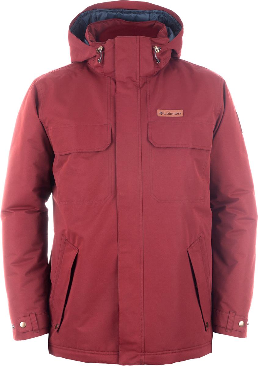 Куртка муж Columbia Rugged Path Jacket M, цвет: кирпичный. 1737571-837. Размер XL (52/54)1737571-837Городская утепленная мужская куртка. Верхняя ткань изделия содержит водонепроницаемую и паропроводимую мембрану Omni-Tech. Подкладка оснащена технологией Omni-Heat reflective - технология Omni-Heat, за счет наличия серебристых точек, обеспечивает превосходное сохранение тепла.
