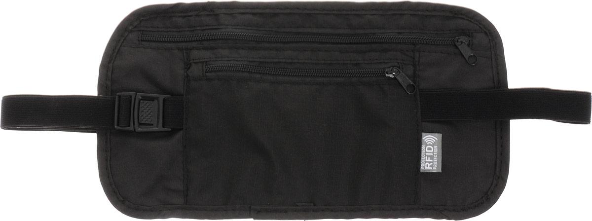 Colibri Сумка на пояс, цвет: черный, 27 х 13,5 см