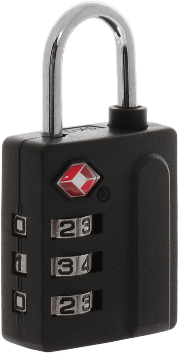 Colibri Кодовый замок для багажа c функцией TSA, цвет: черный