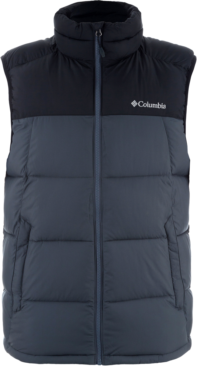 Жилет мужской Columbia Pike Lake Vest M, цвет: черный. 1738012-010. Размер M (46/48)1738012-010Жилет Columbia изготовлен из качественного материала с утеплителем. Жилет застегивается на молнию. Модель дополнена практичными карманами.