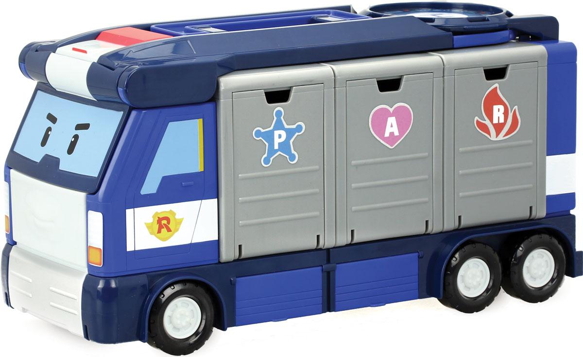 Robocar Poli Игровой набор Передвижная штаб-квартира игровой набор village story  малыш мышонок с кроваткой