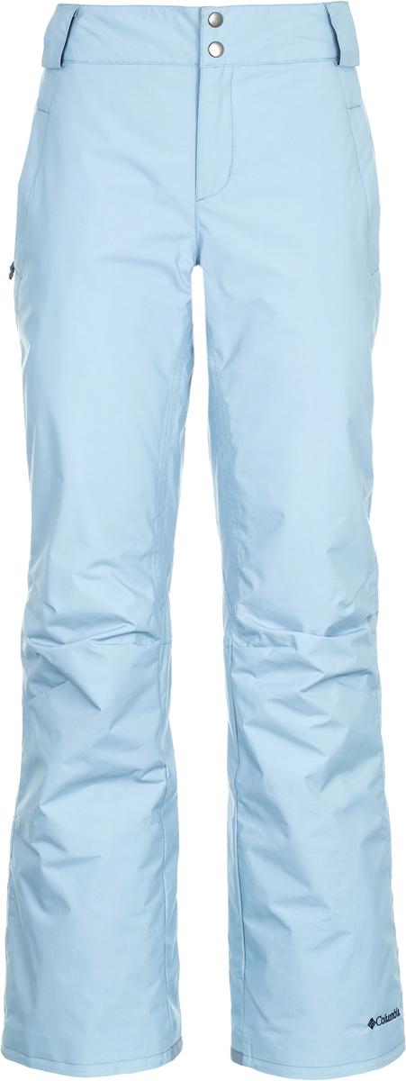 Брюки утепленные женские Columbia Mt. Stellar W Ski Pants, цвет: светло-серый. 1780481-938. Размер XS (42)1780481-938Брюки Columbia изготовлены из качественного материала с утеплителем. Брюки застегиваются на молнию и кнопки. Прямая модель дополнена практичными карманами.