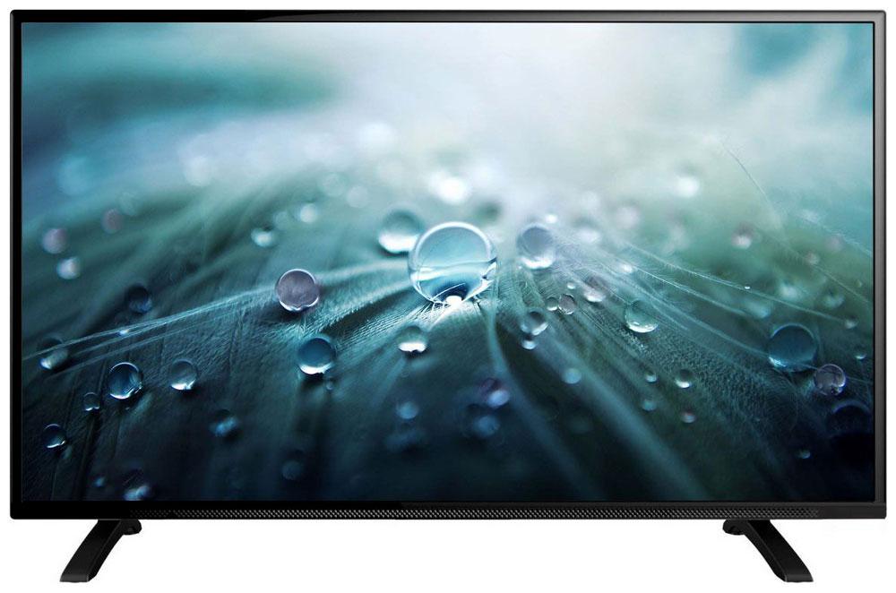 Erisson 28 LES 76 T2 телевизор90000005230Erisson 28 LES 76 T2 - это многофункциональный телевизор, обладающий отличным качеством изображения. Модель с диагональю экрана 28 дюймов можно разместить на кухне или в небольшом помещении.Подсветка Edge LED обеспечивает четкость и яркость изображения, а экран обладает разрешением 1366x768 пикселей, яркостью 250 кд/м2, динамической контрастностью 3000:1 и широким углом обзора (178°).Телевизор имеет функцию телетекста, таймер сна и защиту от детей. Мощность звучания аудиосистемы составляет 12 Вт, также поддерживаются телевизионные стандарты DVB-T/T2/C/S. Телевизор оборудован USB-портом и HDMI-входами.
