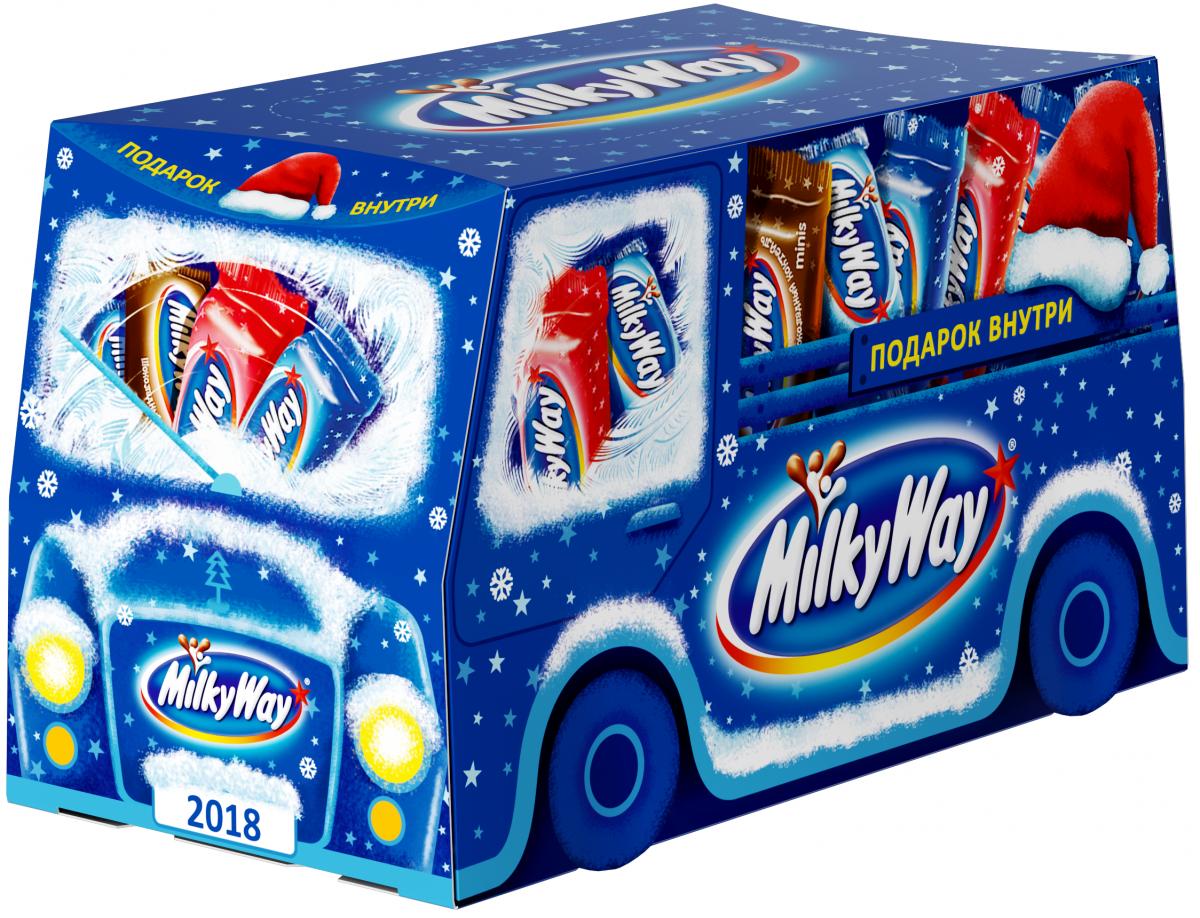 Milky Way Трамвай подарочный набор, 318 г greenland подарочный набор milky 19