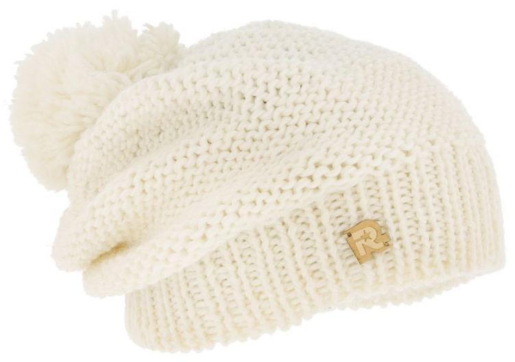 Шапка женская R.Mountain, цвет: кремовый. ICE 8509. Размер 54/61ICE 8509Теплая вязаная шапка R.Mountain выполнена из акрила и шерсти. Модель оформлена нашивкой в виде логотипа бренда. Шапка дополнена пушистым помпоном. Подкладка полностью выполнена из ворсистого плюша, который обеспечит тепло и комфорт.