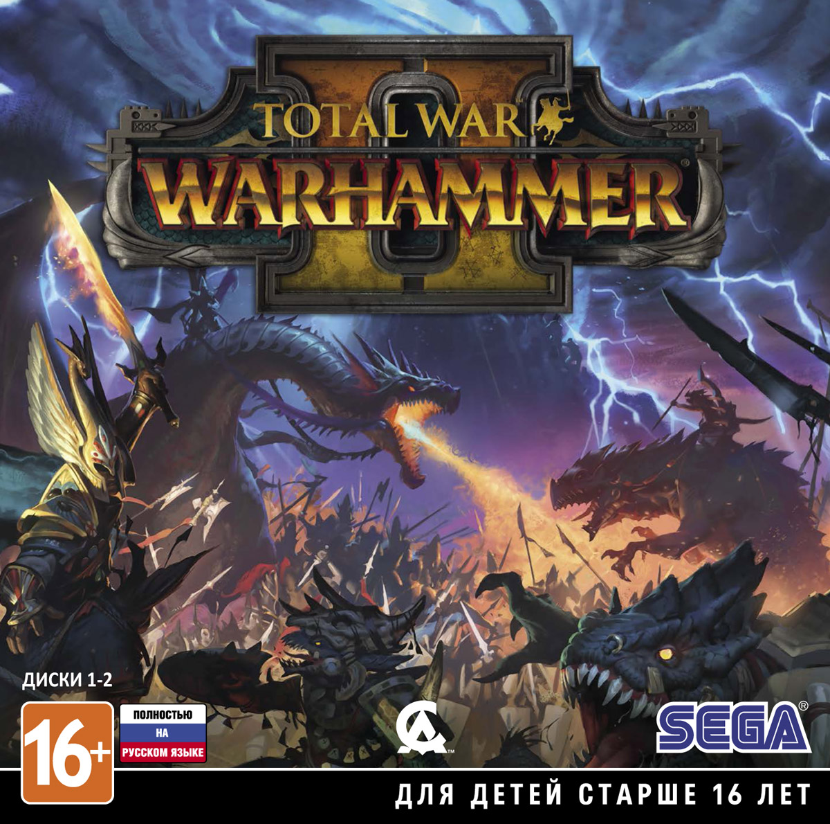 Zakazat.ru Total War: WARHAMMER II (Jewel Case, 4 DVD)
