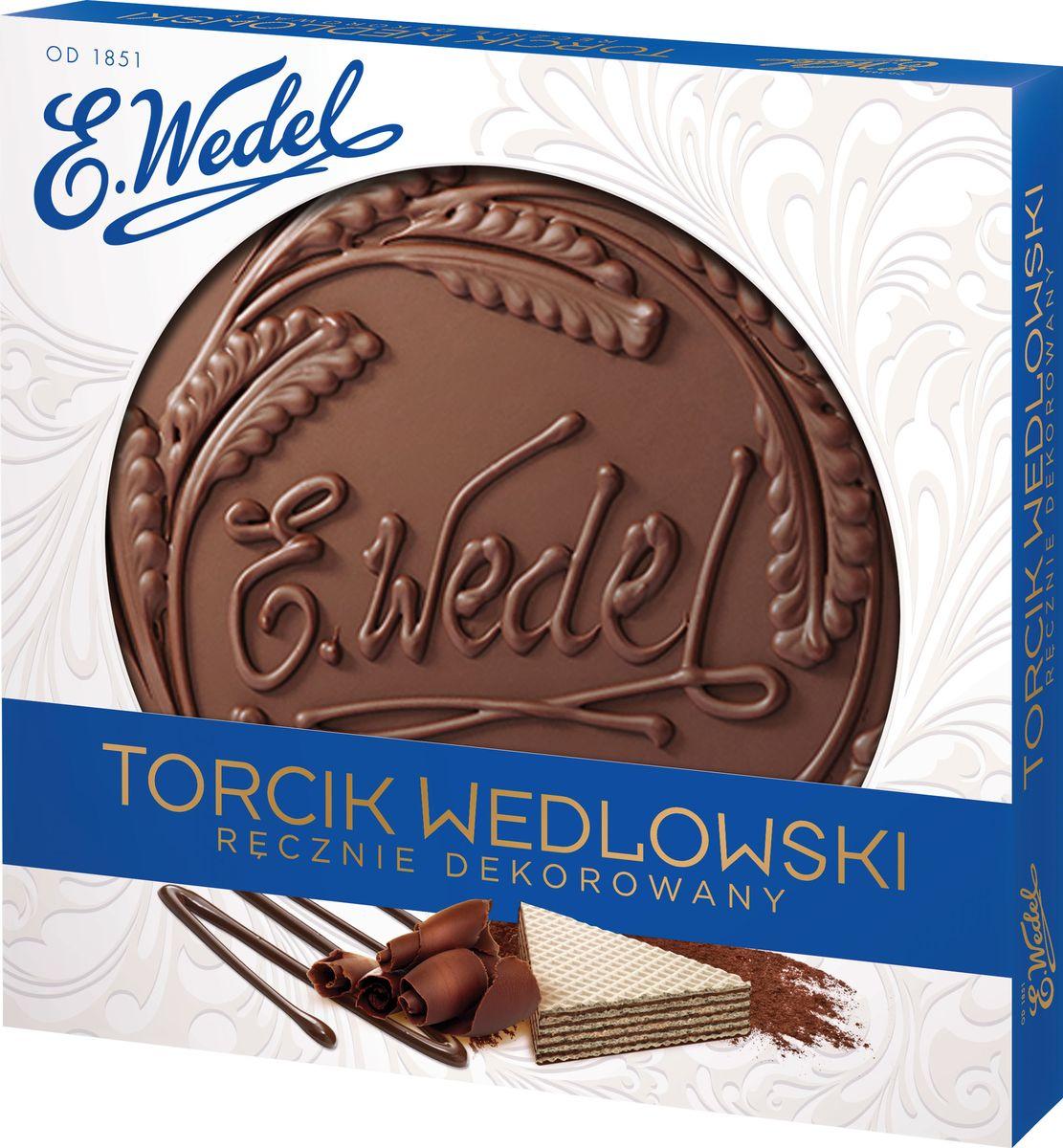 E.Wedel вафельное пралине торт, 250 г7.22.23Вафельный торт ручной работы станет отличной составляющей для домашнего чаепития или для похода в гости. Любимое детьми и взрослыми лакомство имеет несколько слоев-коржей с начинкой-пралине. Сверху покрыто толстым слоем шоколадной глазури.