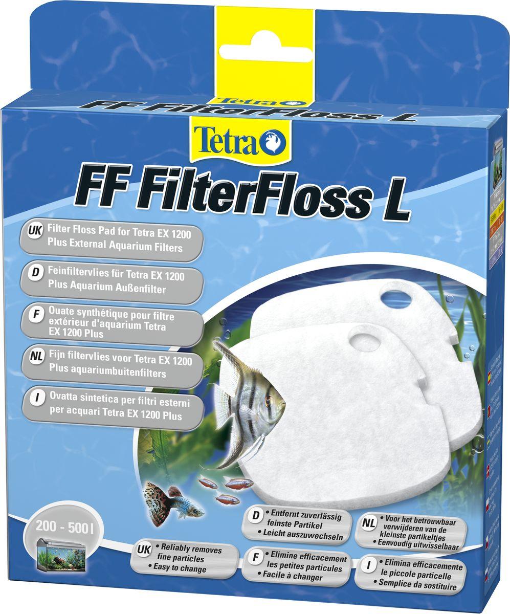 Губка Tetra FF 1200, для внешнего фильтра Tetra EX 1200, 2 шт146068Губка Tetra FF 1200 изготовлена в форме вкладыша из синтепона, предназначенного для монтажа во внешние фильтры Tetratec EX-1200. Синтепон гарантирует качественную механическую очистку аквариумной воды и дает возможность уменьшить загрязнения иных фильтрующих элементов в аквариумном фильтре. В комплект входят 2 шт.