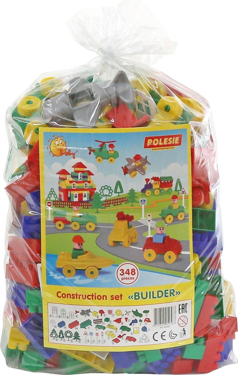 грузовики полесье игрушки Полесье Конструктор Строитель 52568
