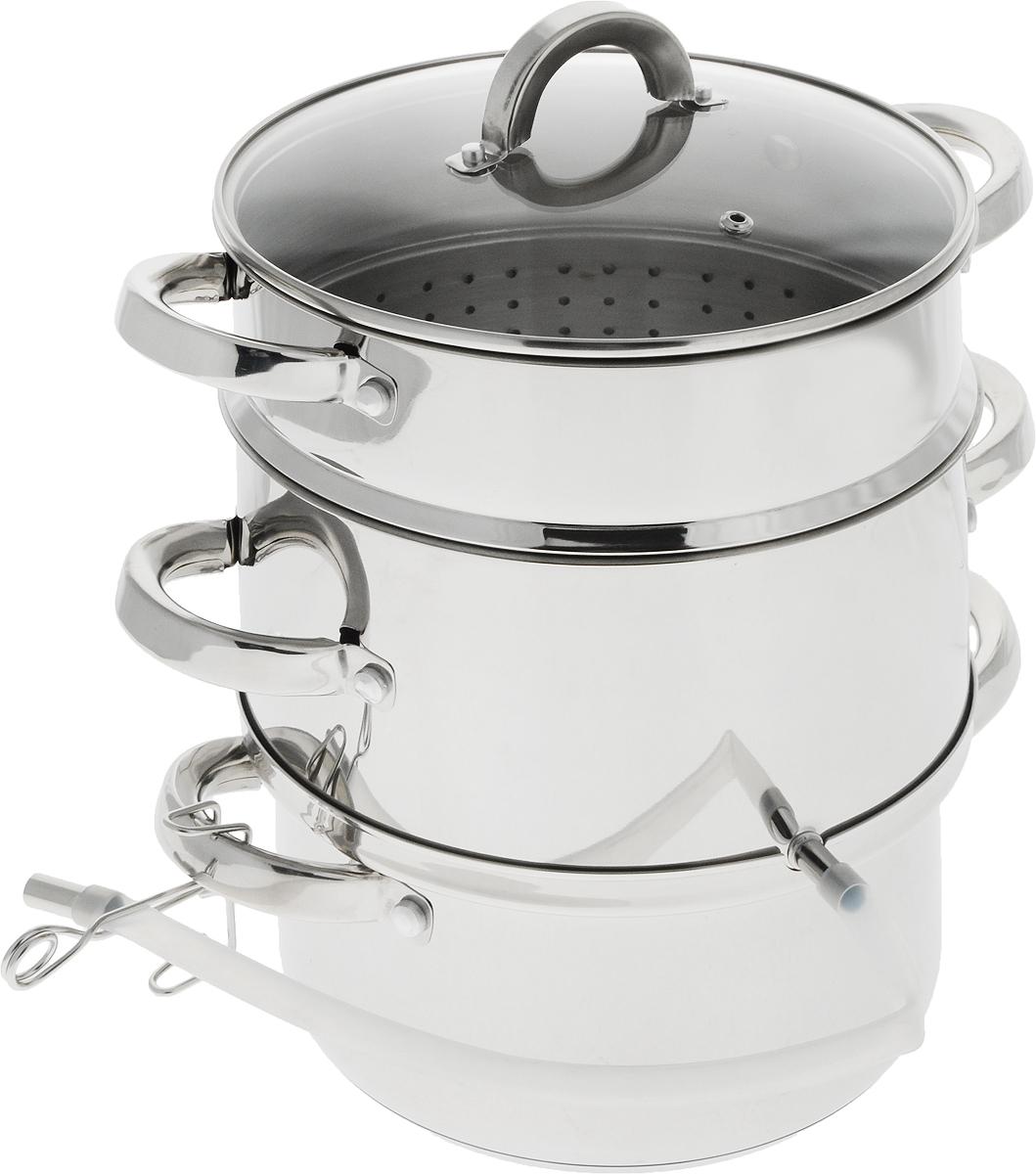 Соковарка  Travola  с крышкой, 5 л - Посуда для приготовления