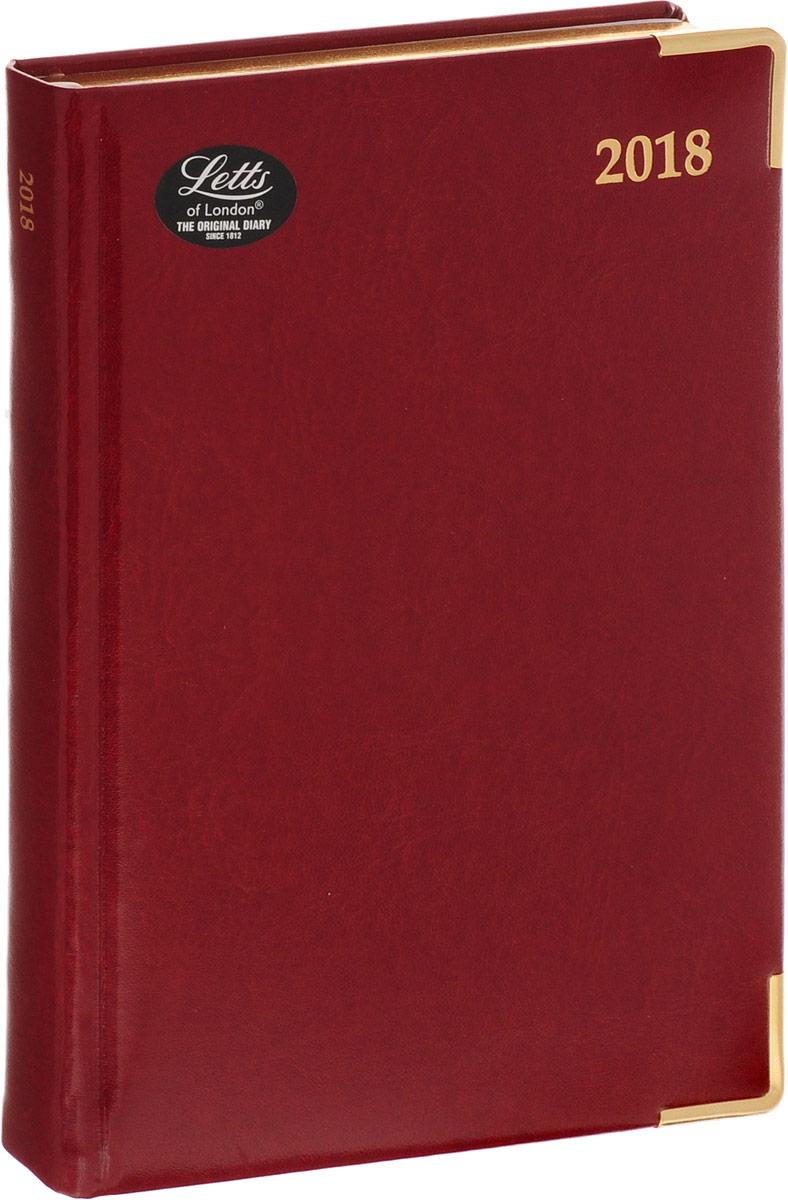 Letts Ежедневник Lexicon недатированный 202 листа цвет бордовый shakespeare lexicon