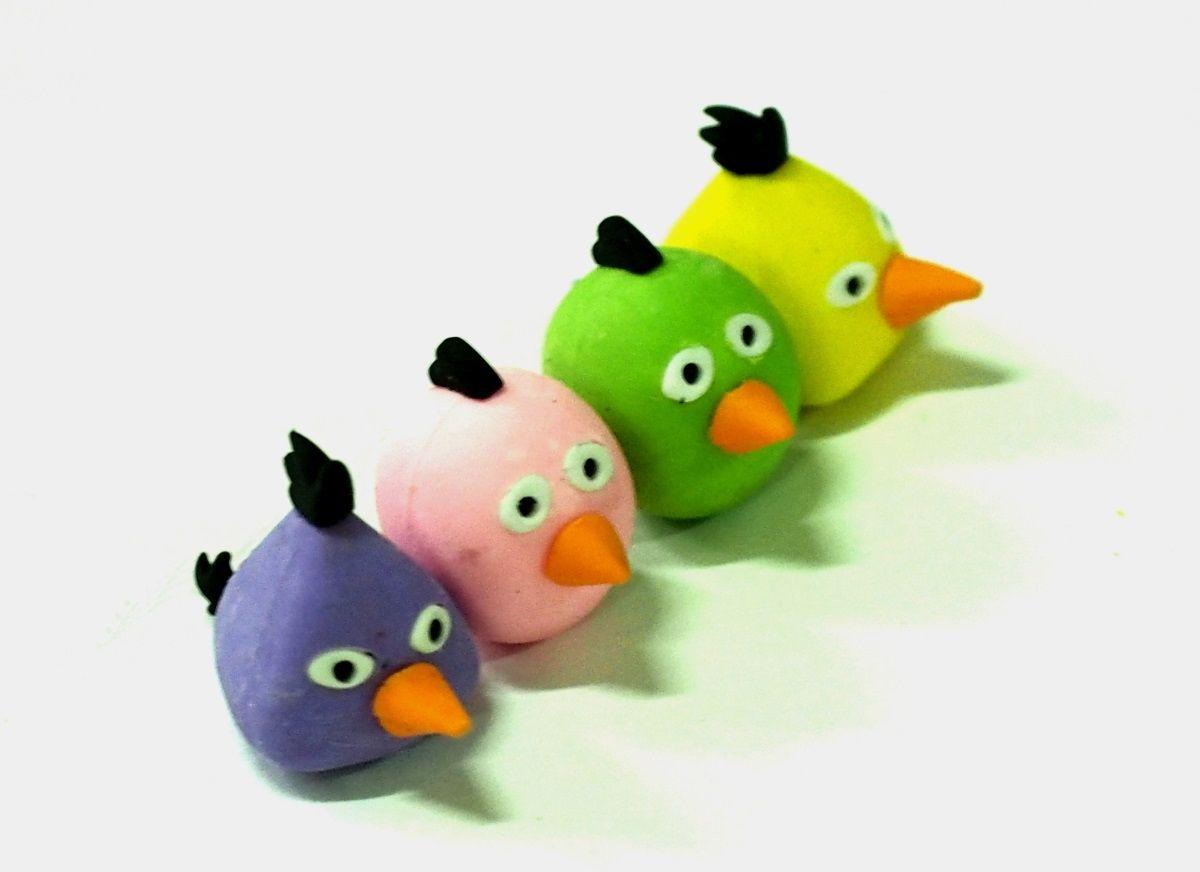 Карамба Ластик Птицы002251Ластик выполнен в виде четырех птиц.
