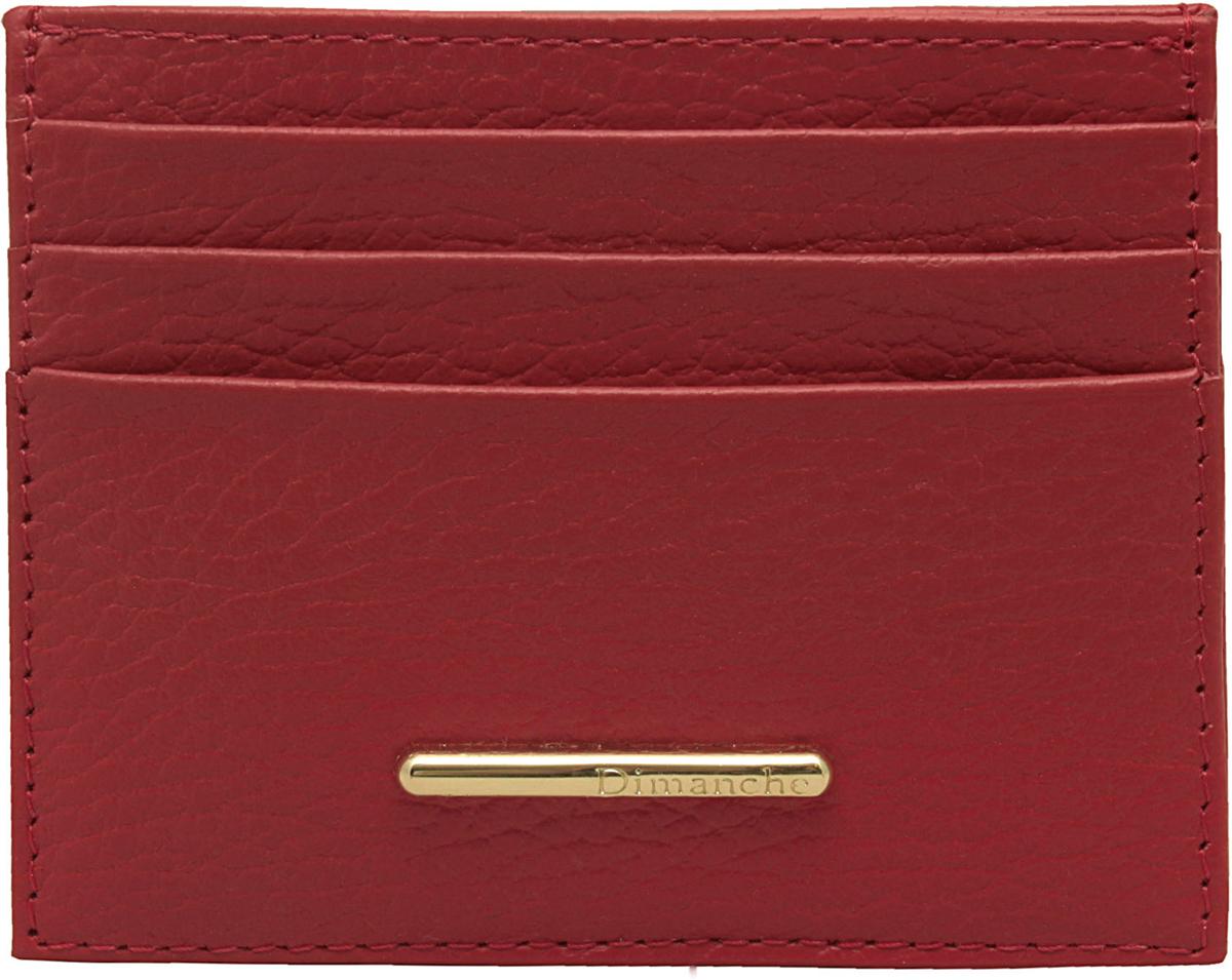 Визитница женская Dimanche Nice, цвет: красный. 909 сумка dimanche dimanche di042bwydz35