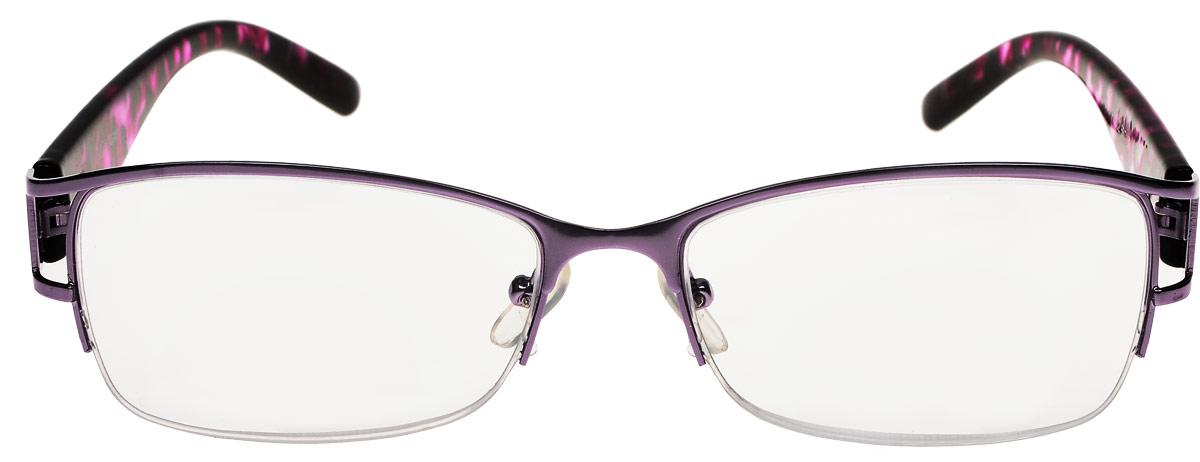 Proffi Home Очки корригирующие (для чтения) 302 Fabia Monti +2.50, цвет: прозрачный, черный, фиолетовый - Корригирующие очки