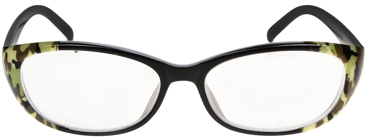 Proffi Home Очки корригирующие 729 Fabia Monti -2.50, цвет: белый, зеленый, коричневый