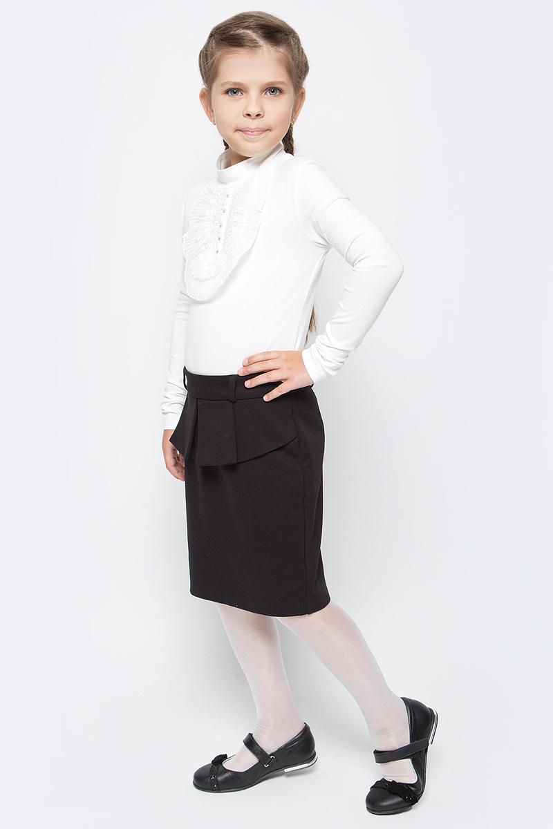 Блузка для девочки Free Age, цвет: молочный. ZG 28074-V2. Размер 122, 6 лет