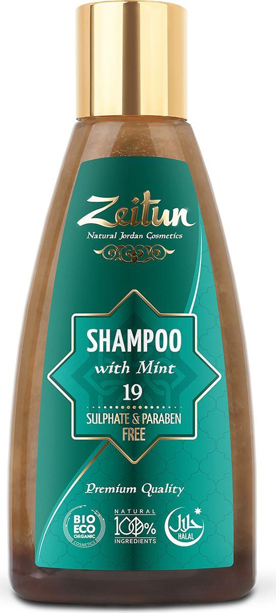 Зейтун Натуральный очищающий шампунь для волос №19 с мятой, 150 млZ0419Ещё один универсальный шампунь в нашей линейке средств по уходу за волосами. Хорошо очищает кожу головы и волосы, благодаря сбалансированному составу масел и экстрактов может использоваться ежедневно для всех типов волос. Обладает легким успокаивающим и релаксирующим ароматерапевтическим эффектом.