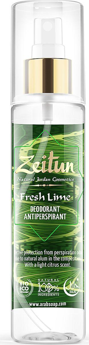Зейтун Дезодорант-антиперспирант Лайм, 150 мл минеральный дезодорант твердый 60 г