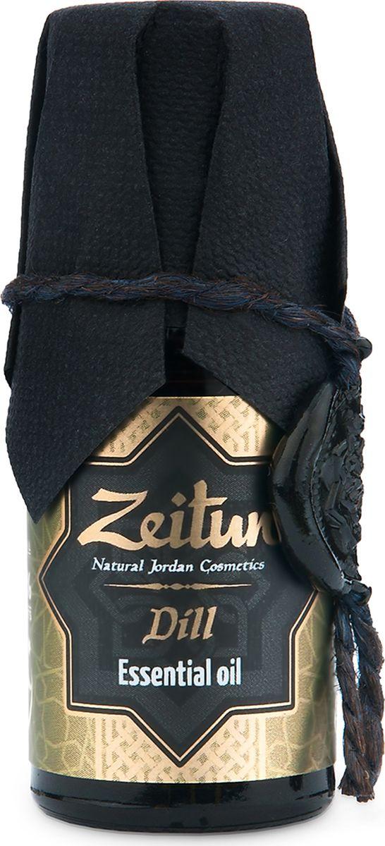Зейтун Эфирное масло Укроп, 10 мл масло zeitun зейтун масло ароматическое массажное романтика флакон 100 мл
