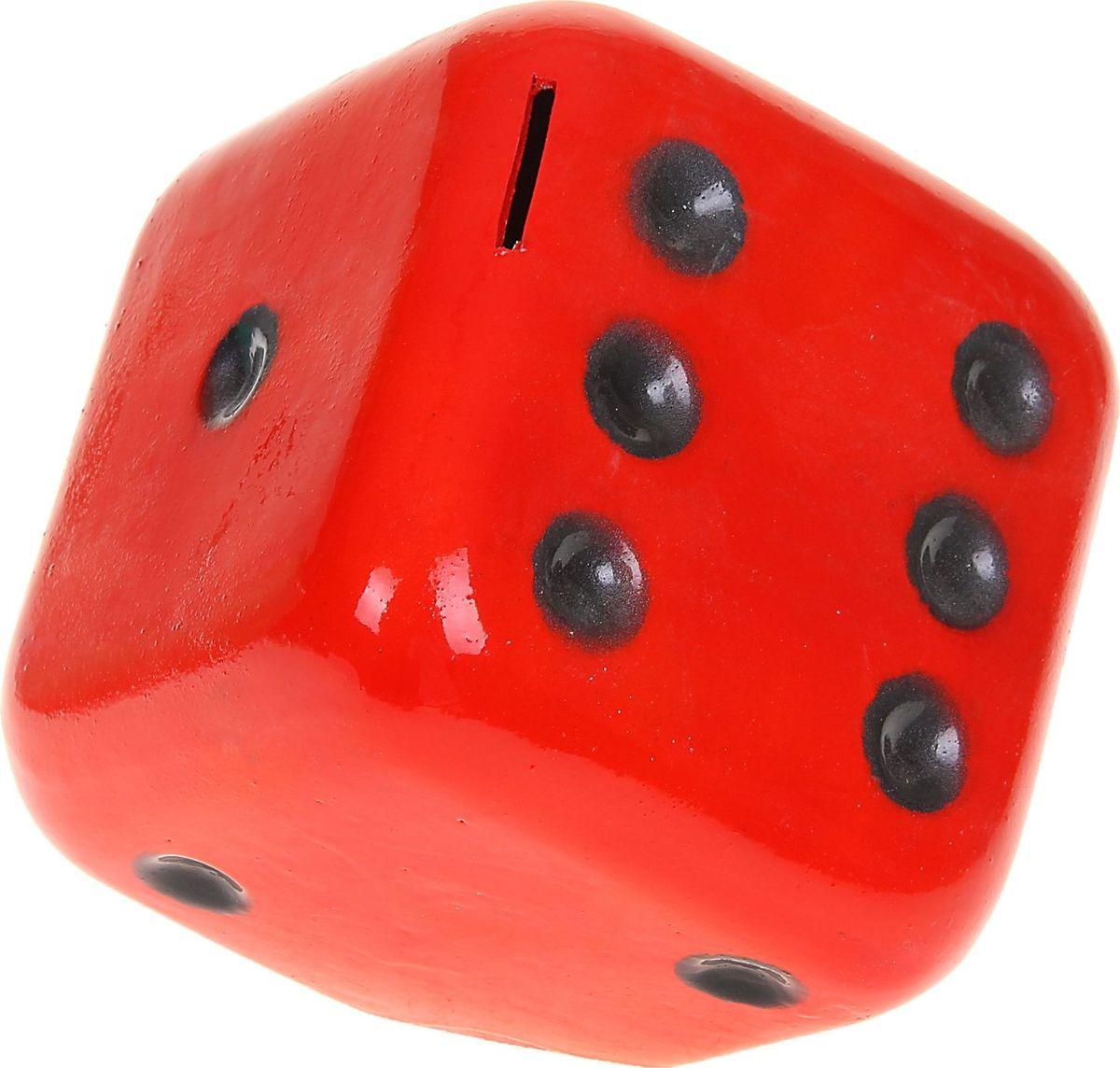 Копилка Керамика ручной работы Кубик, цвет: красный, 14 х 14 х 14 см1067106Каждая хозяйка знает, что в ведении домашнего хозяйства важную роль играет умение накапливать средства.Поставьте копилку на видное место, и она не только будет хранить деньги, но и станет стильным элементом интерьера.Обращаем ваше внимание, что копилка является одноразовой.
