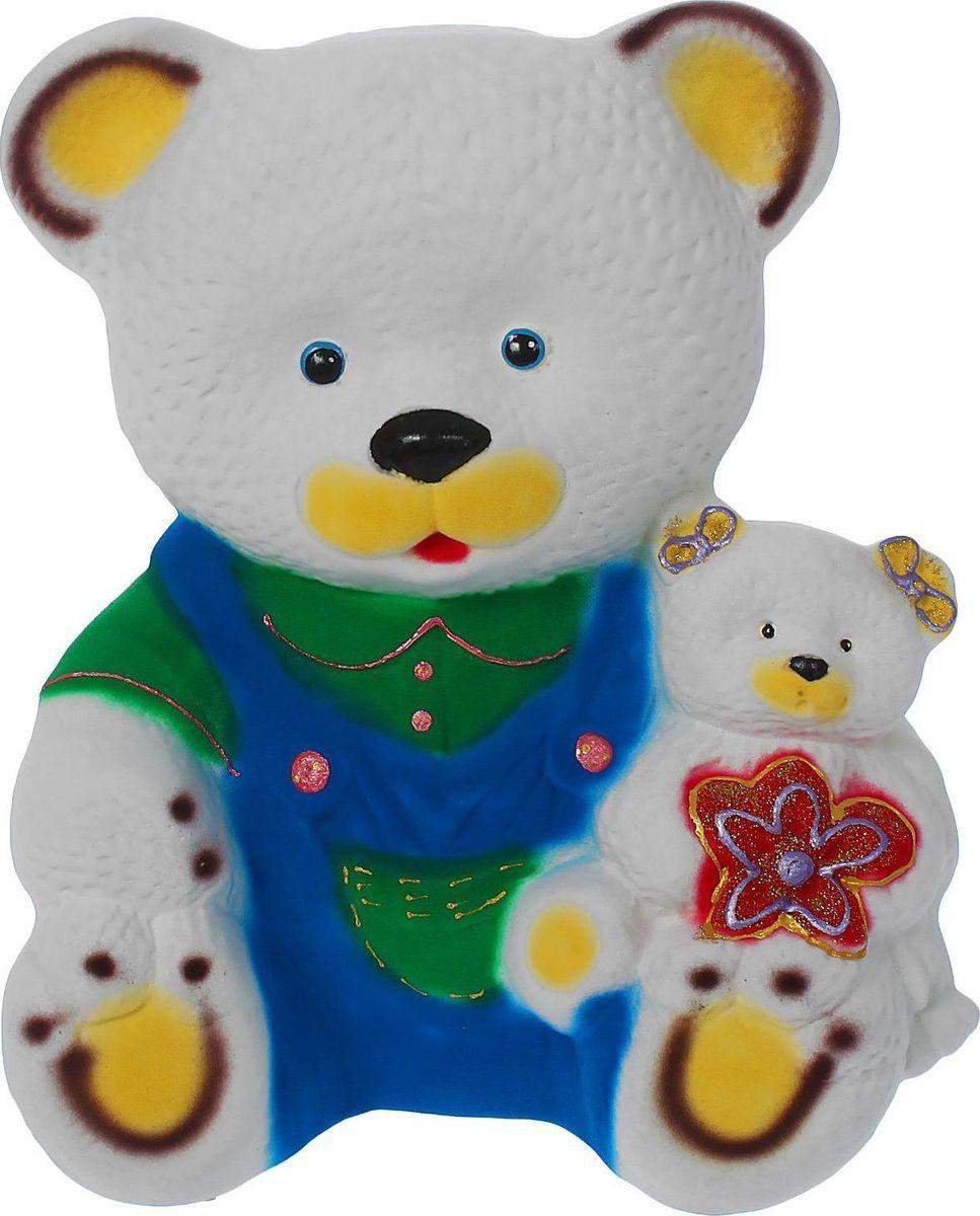 Копилка Керамика ручной работы Медведь с медвежонком, 19 х 21 х 23 см1314907Копилка для ребёнка поможет родителям в воспитательном процессе. Поощряйте чадо монетками за хорошие дела: уборку игрушек, выполнение заданий, выученное стихотворение. Предложите ему откладывать на то, а чём он так мечтает. Так малыш станет более ответственным, а процесс накопления денег превратится в игру. Изделие с забавным животным станет ярким украшением детской комнаты.Обращаем ваше внимание, что копилка является одноразовой.